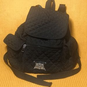 Juicy Couture RARE Quilted Trinity Rucks Backpack